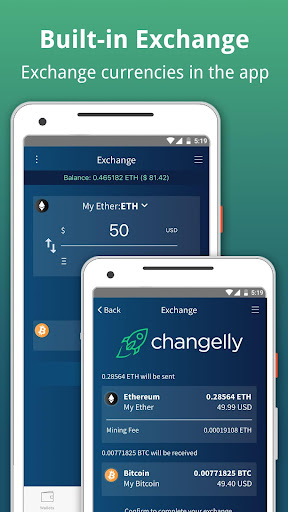 Edge - Bitcoin, Ethereum, Monero, Ripple Wallet 1.11.5 screenshots 4