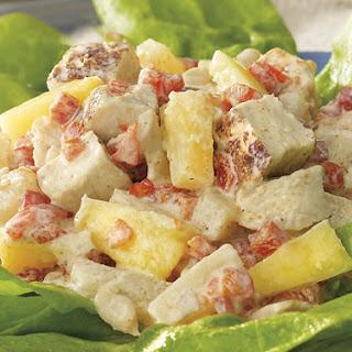 Caribbean Chicken Salad With Plantain Pie