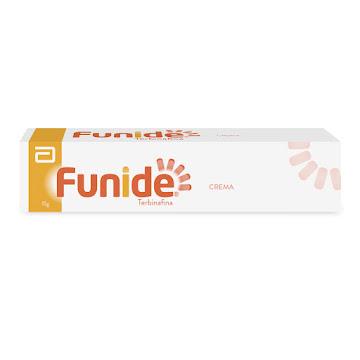 Funide 1% Crema Tubo   x15g Dermatic TERBINAFINA
