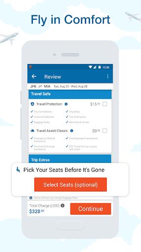 CheapOair: Cheap Flights, Cheap Hotels Booking App 3.20.3 screenshots 2