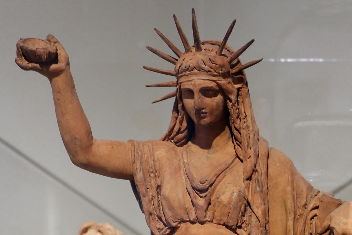 Camillo Pacetti, la Legge di Cristo (particolare), terracotta, 1808, Pinacoteca Brera