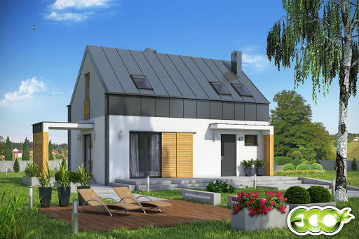 projekt Eco 3 bez garażu B