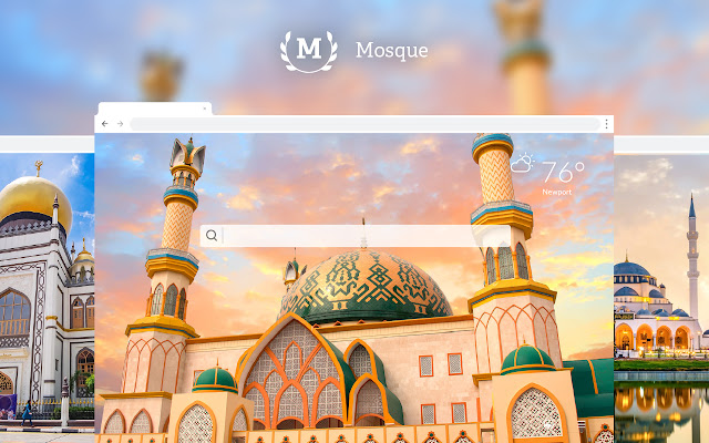 Mosque HD Wallpapers New Tab
