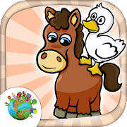 Farm animal mini games