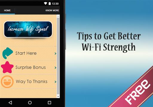 Increase WiFi Signal Guide
