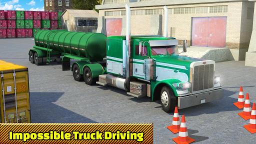 Truck Parking Adventure 3D:Impossible Driving 2018 apkpoly screenshots 4