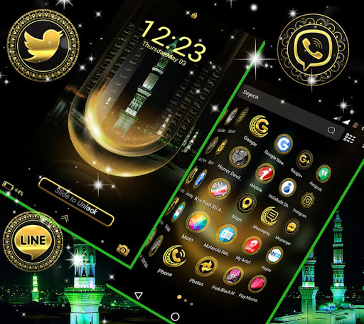 Makka Madina Launcher Theme 1.4 screenshots 5