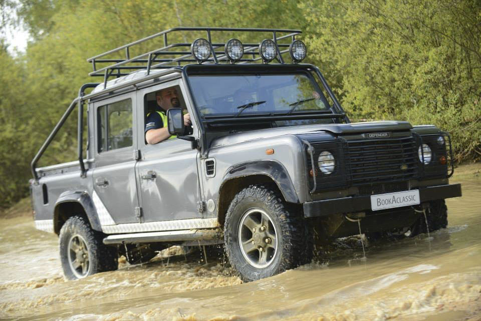 Land Rover 110 Defender Hire Wellingborough