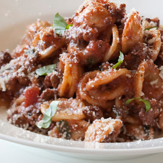 Weeknight Bolognese.