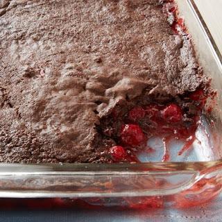 3-Ingredient Chocolate Cherry Dump Cake.