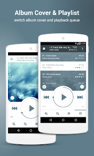 NRG Player music player- screenshot thumbnail