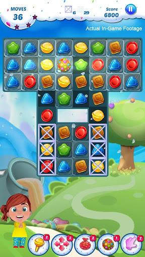 Gummy Candy - Match 3 Game screenshots 2
