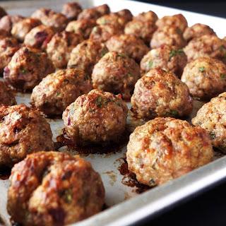 Meaty, Juicy & Tender Meatballs.