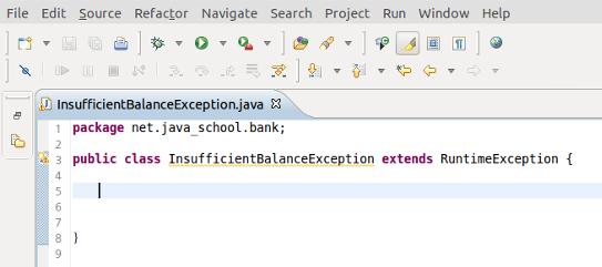 Custom Exception 1