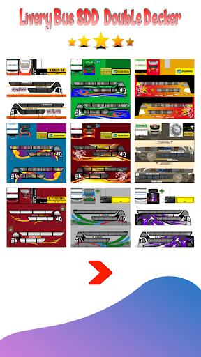 Double Decker SDD Livery Bus 1.3 screenshots 1