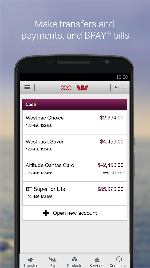 Westpac Mobile Banking Android Apps On Google Play