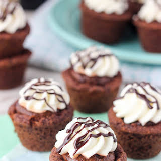 Baileys Mousse Cookie Cups.