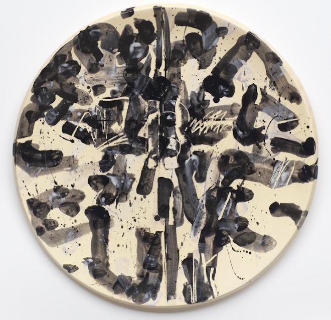 "<p> <strong>Study for Splendide-Hôtel B</strong><br /> Ceramic plate<br /> 13 ¼"" x 13 ¼""<br /> 2018</p>"