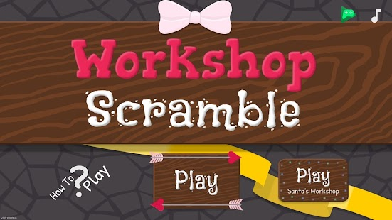 Workshop Scramble Screenshot
