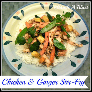 Chicken & Ginger Stir-Fry Recipe