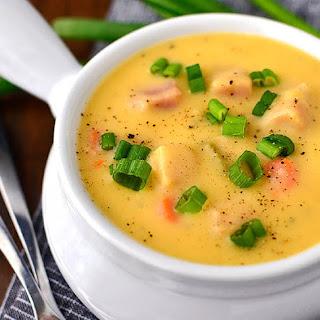Cheesy Ham Potato Soup Recipes
