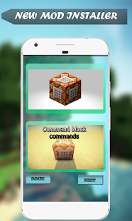 Command Blocks Mod for MCPE - náhled