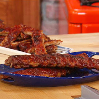 Baby Back Ribs with Bourbon Barbecue Sauce Recipe