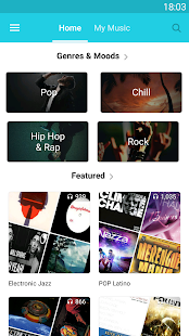 AdoreMusic - Free music & Music player - náhled