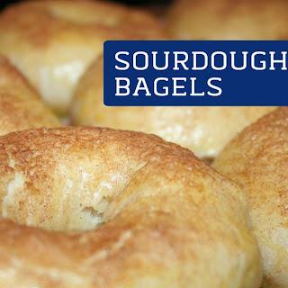 Sourdough Bagels.
