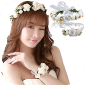 Crown Flower Photo Editor