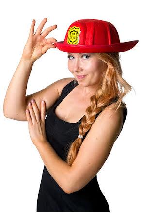 Brandmanshatt, vuxen