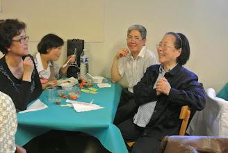 Photo: Chi Anh Thu, Sr Sophie Phu, anh Hoang et sa femme