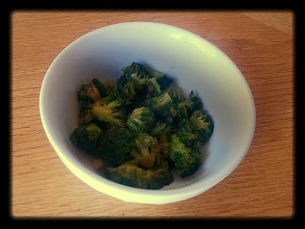 Broccoli With Asian Oyster Sauce