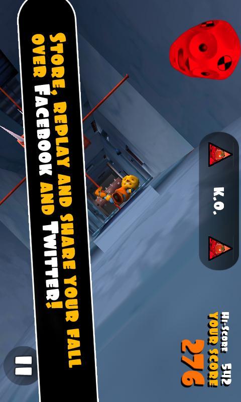 Скриншот Falling Fred