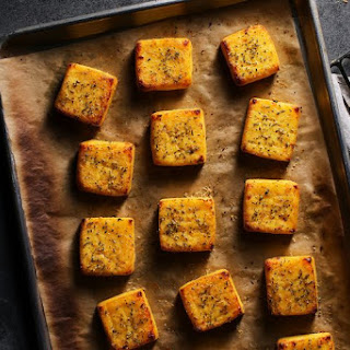 Roman Rosemary Polenta Squares Recipe