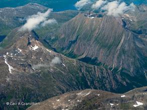 Photo: Mountain in Tysfjord, Nordland