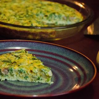 Crustless Spinach & Mushroom Quiche