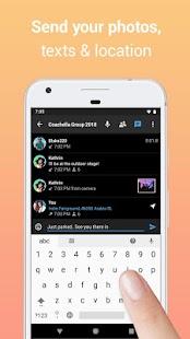 Zello PTT Walkie Talkie Screenshot