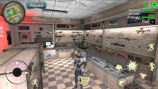 Hurricane Superhero : Wind Tornado Vegas Mafia screenshots 3