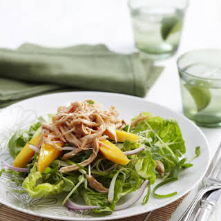 Thai Mango and Chicken Salad.