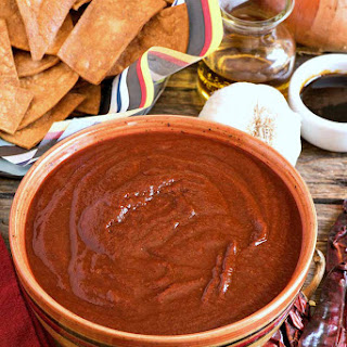 Southwestern Red Chile Sauce.