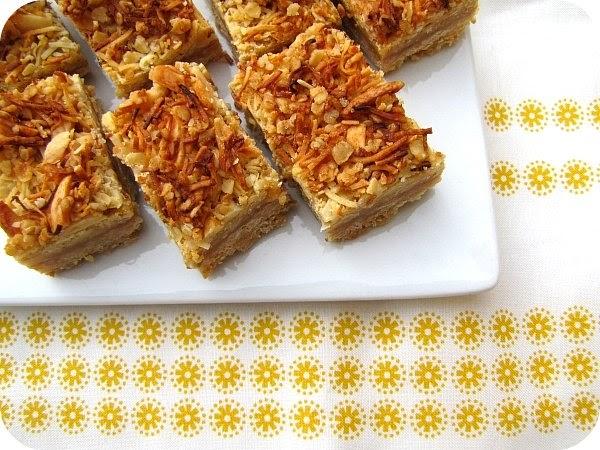 Caramel Oat Slice Recipe