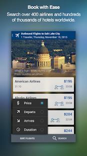 Travelocity Hotels Flights Screenshot Thumbnail