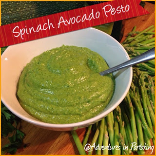 Spinach Avocado Pesto