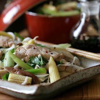 Pork and Mushroom Stir-Fry