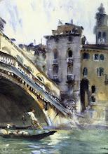 "Photo: John Singer Sargent, ""Rialto, Venezia"" (1907)"