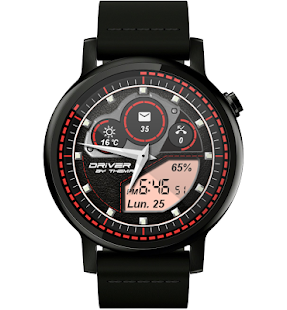 Driver Watch Face Screenshot