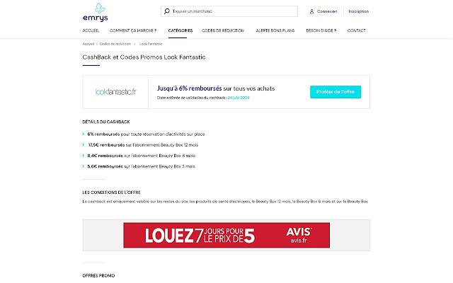 emrys la carte avis Alerte Bons Plans Emrys la carte   Belgique   Chrome Web Store