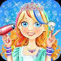 Snow Hair Salon Games icon
