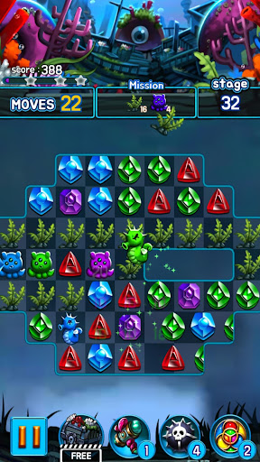 Jewel Kraken: Match 3 Jewel Blast 1.7.0 screenshots 5